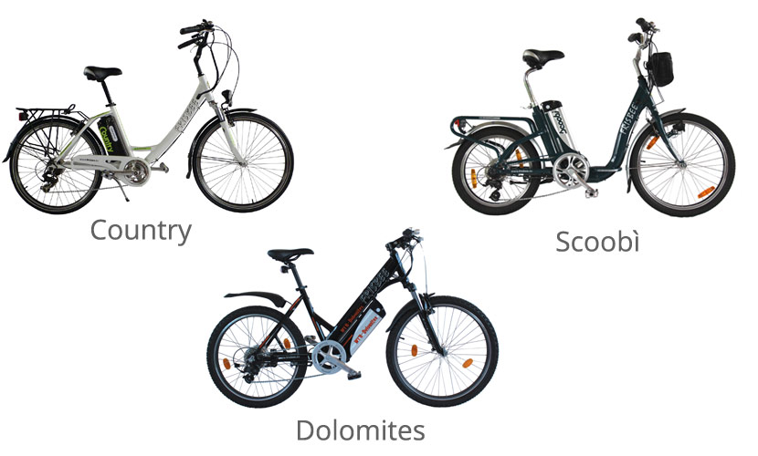Noleggio e Vendita bicilette con pedalata assistita